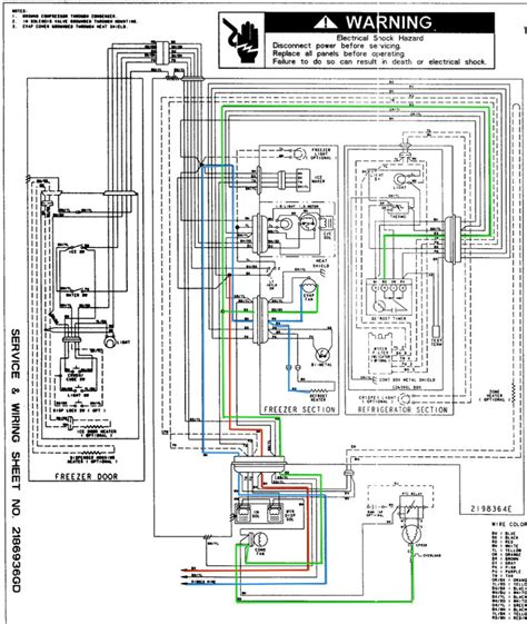 electrical wiring diagrams for refrigerators free