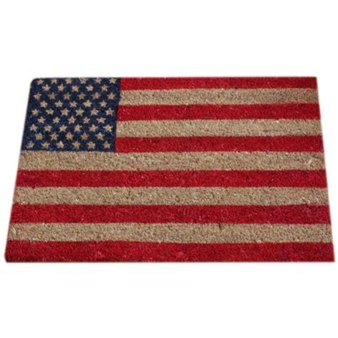 Merican Doormat stripes american flag doormat door mat