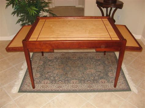 jigsaw puzzle table with drawers plans furniture puzzle table l puzzle tables puzzle