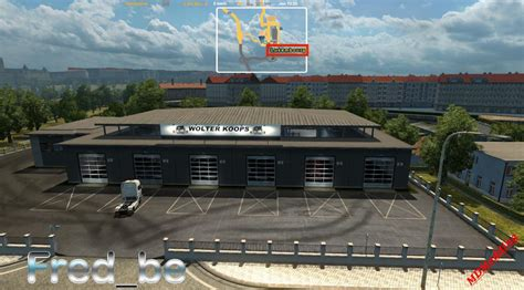 How Big Should A Garage Be For 2 Cars by Big Garage Wolter Koops 1 22 X Mod Truck Simulator 2