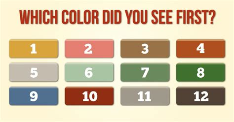 what color are you personality test what does the color you choose say about your personality
