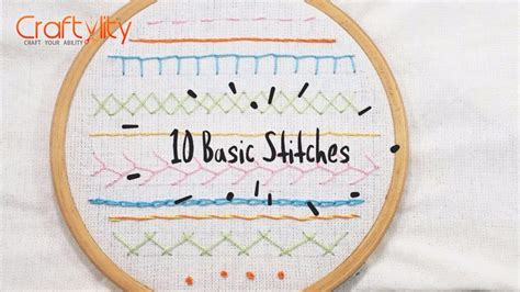 stitches diy diy embroidery stitches tutorial for beginners