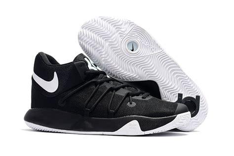 trey heels black black zero defect kevin durant nike kd trey 6 vi black white