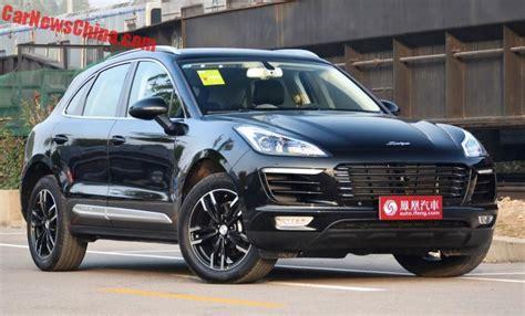 Porsche Macan China zotye sr9 porsche macan clone launched on the car