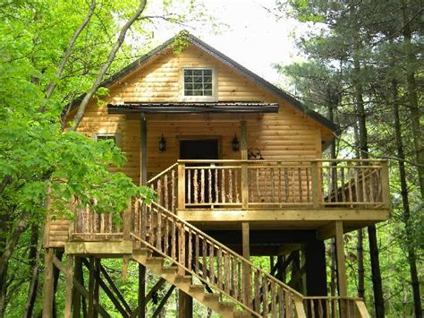 Coblentz Cabins by Front View Of Tree House Picture Of Coblentz Country