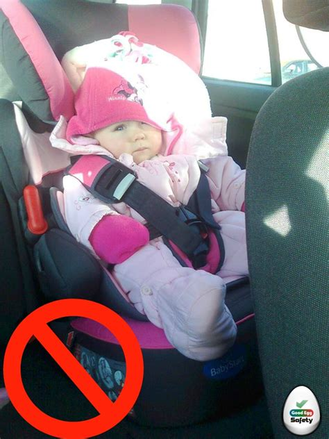 infant snowsuits and car seats 5 steps to your child into their car seat correctly