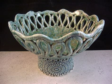 home decor ceramics items similar to ceramics art pottery coil pot home decor turquoise green candleholder
