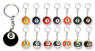 Xsy Keychain Assorted Newvi 16 wholesale discounts store 16 assorted pool keychains