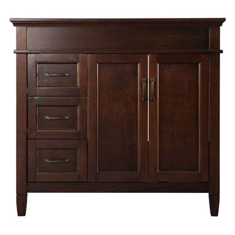 home depot 36 inch bathroom vanity home decorators collection ashburn 36 inch vanity the