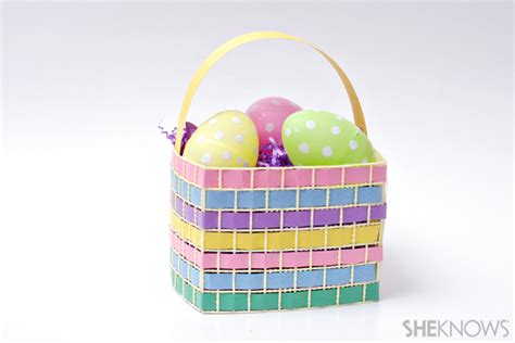 How To Make Easter Baskets Out Of Paper - adorable easter baskets you can diy in a snap