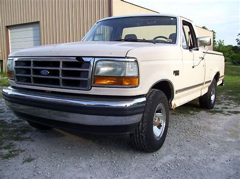automobile air conditioning service 1992 ford f150 transmission control sell used 1992 ford f 150 xlt lariat standard cab pickup 2 door 5 0l short wide bed in