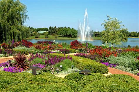 Chicago Arboretum Botanical Gardens Panoramio Photo Of Chicago Botanic Garden