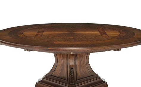round dining room tables with leaves round widdicomb dining table with two leaves at 1stdibs 48