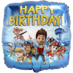 nickelodeon paw patrol happy birthday sittingbourne balloons