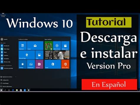 descargar windows 10 professional iso espaol descargar e instalar windows 10 profesional 32 64 bits