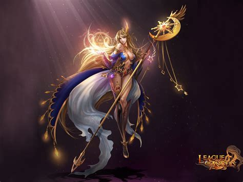 league  angels varda elegant girl goddess   stars