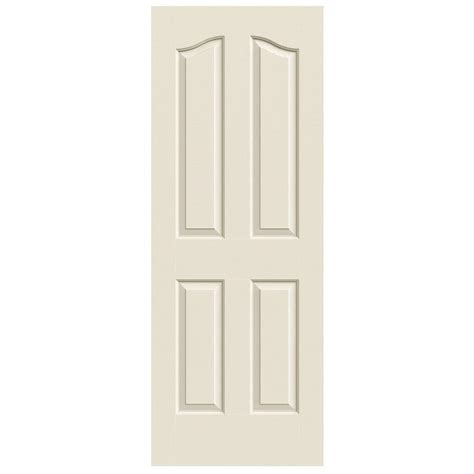 Primed Interior Doors Jeld Wen 30 In X 80 In Provincial Primed Textured Molded Composite Mdf Interior Door Slab