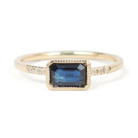 Sapphire Rings by True Blue Sapphire Ring Wedding Engagement Catbird