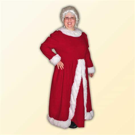 mrs claus mrs claus a style dress santa co llc