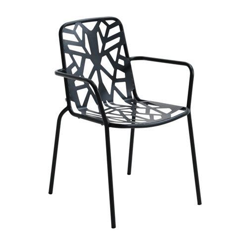 sedia metallo design sedia di design in metallo zincato per giardino fancy leaf 2