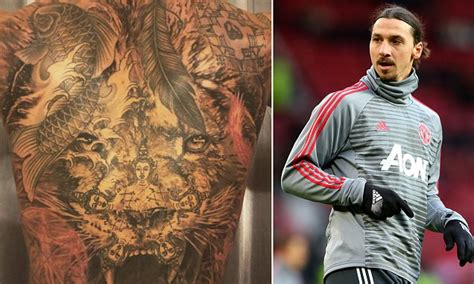 zlatan ibrahimovic tattoos meaning ibrahimovic shows stunning new back 102 3 max fm
