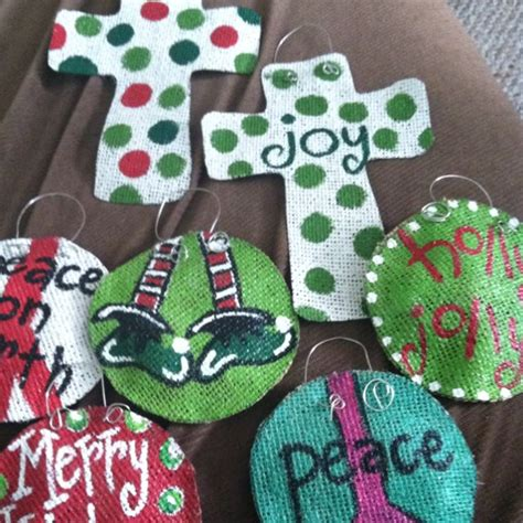 craft projects for couples best 25 burlap ornaments ideas on