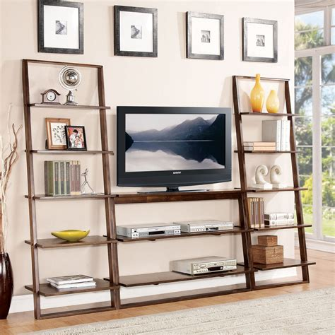 Bookcase With Tv Shelf by Bookcase Tv Stand American Hwy