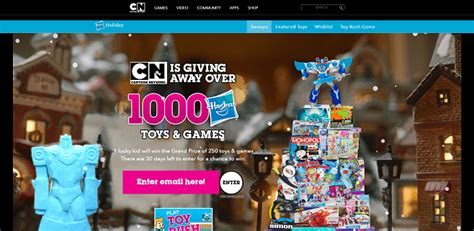 Holiday Sweepstakes 2016 - cartoonnetwork com win holiday sweepstakes 2016