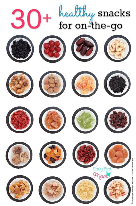 on the go 30 no mess healthy snack ideas for on the go