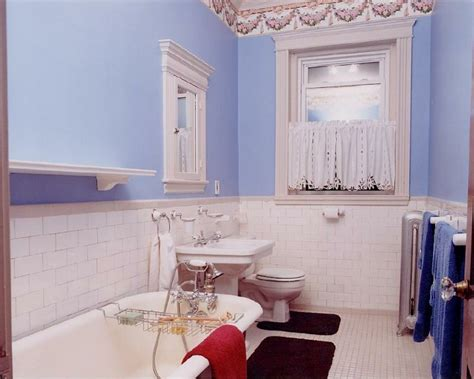 bathroom wallpaper border ideas ba 241 os de color cincuenta ideas estupendas