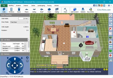 drelan home design software kullanimi dreamplan home design software 2 12 live new com