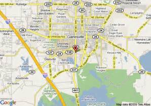 gainesville florida map map of days inn gainesville gainesville