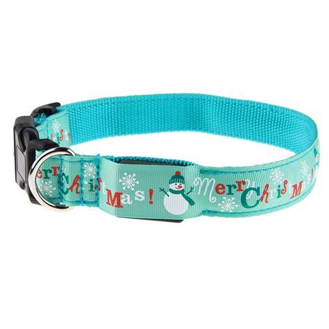 led collar light adjustable led light luminous pet
