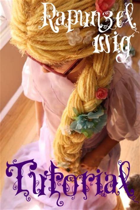 rapunzel tutorial wig free rapunzel dress pattern and 4 rapunzel hair tutorials