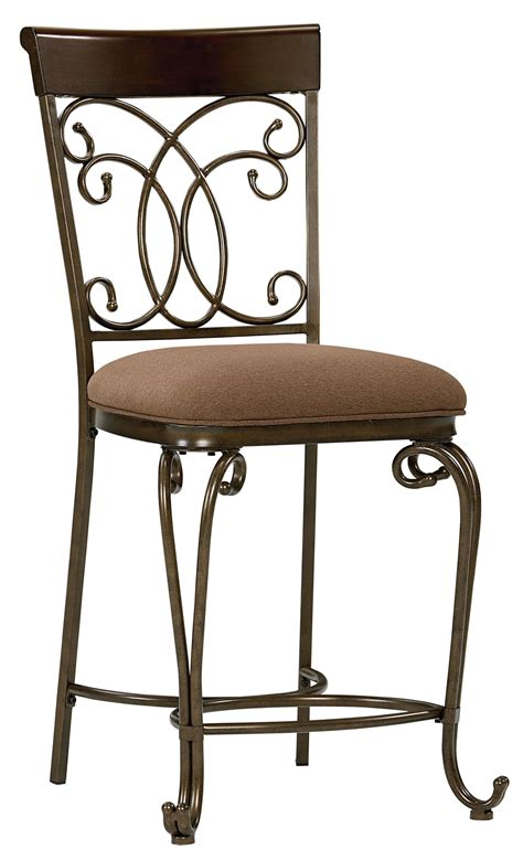 metal dining bar stool restaurant furniture warehouse standard furniture bombay 13434 upholstered counter height
