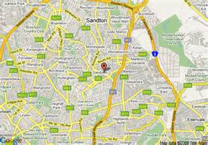 map of hton map of sandton sandton