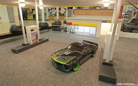 Rsc Auto Tuning by Ford Mustang Gas Station Miniature Rc Car Toys Cars