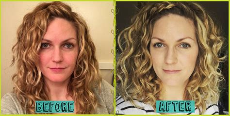 devacut on caucasian hair devacut before afters that will make your jaw drop