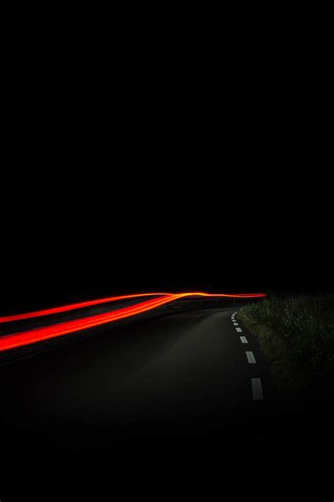 wallpaper jalan hitam gambar cahaya jalan malam suasana garis kegelapan