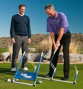 make a golf swing plane trainer golf swing training aids hank haney plane finder dvd