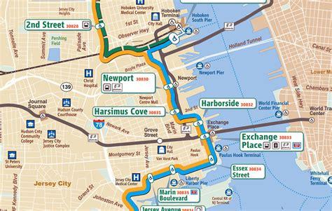 jersey city light rail schedule bergen hudson light rail map decoratingspecial com
