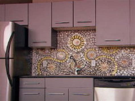 Mosaic Tile Kitchen Backsplash How To Create A China Mosaic Backsplash Hgtv