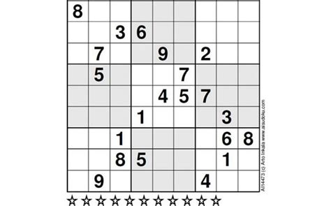 printable ultimate sudoku world s hardest sudoku can you crack it telegraph