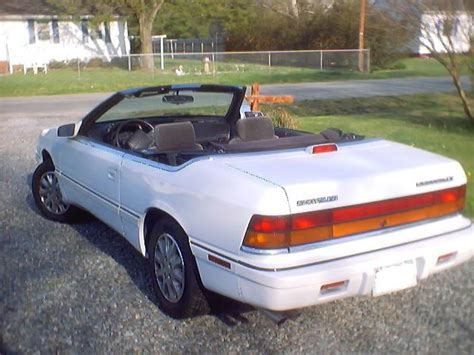 94 Chrysler Lebaron Convertible by Above Brian S 1994 Chrysler Lebaron Lx Convertible