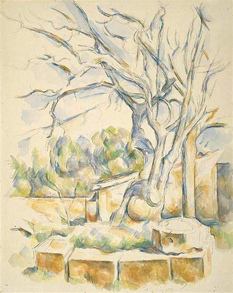 File:Paul Cézanne Pistachio Tree at Château Noir Wikimedia Commons