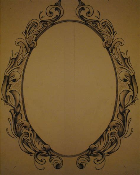 filigree pattern frame filigree frame incomplete by krishanson on deviantart