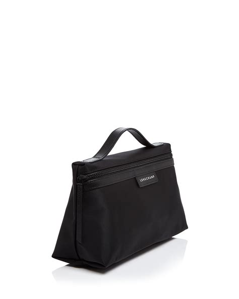 lyst longch le pliage neo large cosmetic in black