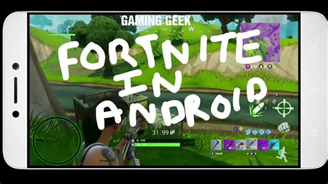will fortnite be on android fortnite battle royale on android