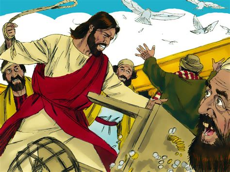 jesus cleanses the temple trashing the temple courts what was that all about