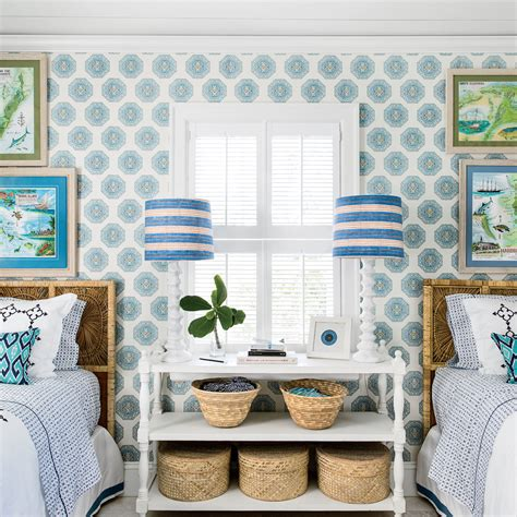 Photos Of Blue And White Living Rooms Interior Home by Blue And White House Decorating Coastal Living